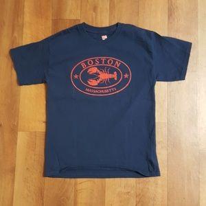 Hanes Boston Massachusetts Tshirt